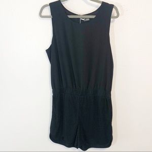 Sparkle and Fade Urban Outfitters black romper Lg